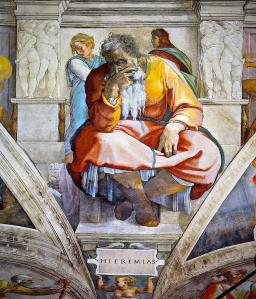 Jeremiah 3 Michelangelo Buonarroti